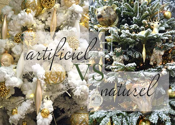 ARTIFICIEL VS NATUREL