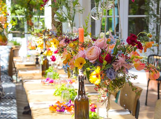 fleur de mariage bohème