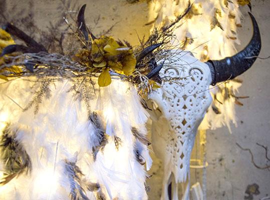 Décoration de Noël d'inspiration Amérindienne